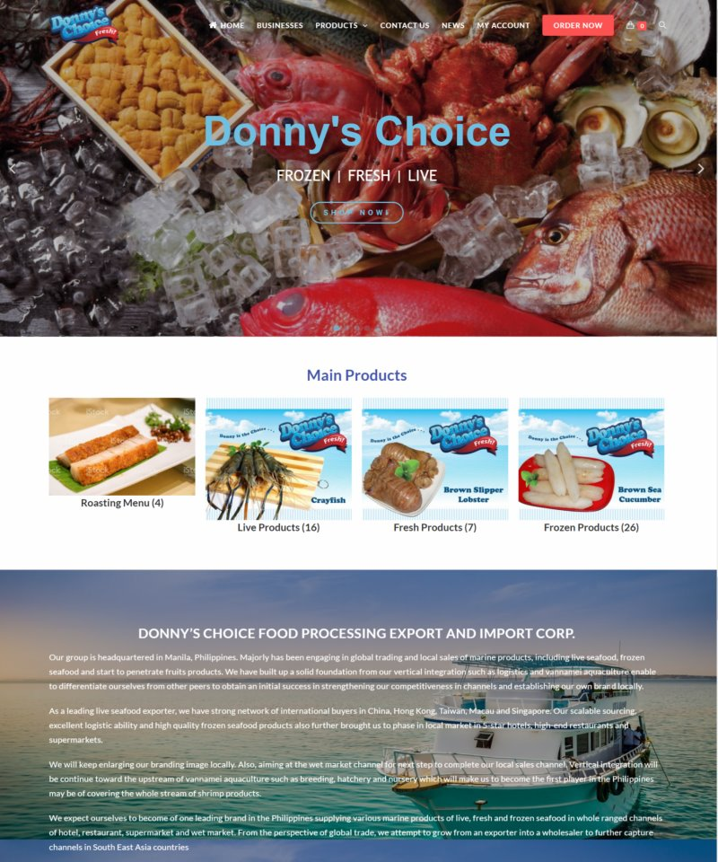 網頁設計-Donny Choice